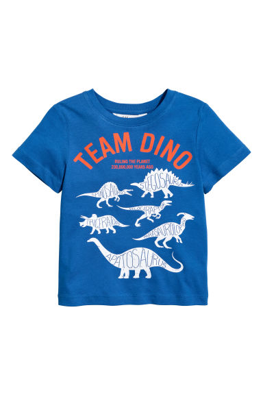 Printed T-shirt - Blue - Kids | H&M