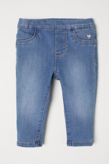 Treggings - Denim blue - Kids | H&M CN