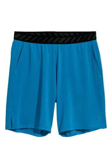 Short sports shorts - Blue - Men | H&M IE