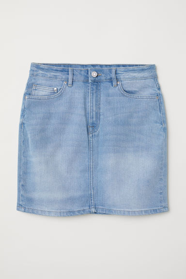 Denim skirt - Light denim blue -  | H&M CN