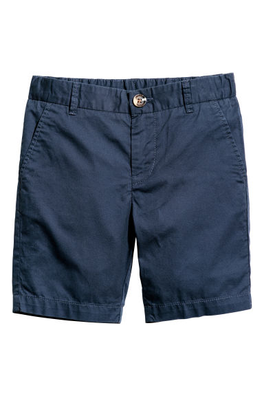 Chino shorts - Dark blue -  | H&M CN