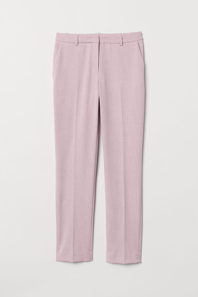 Suit trousers - Powder pink - Ladies | H&M