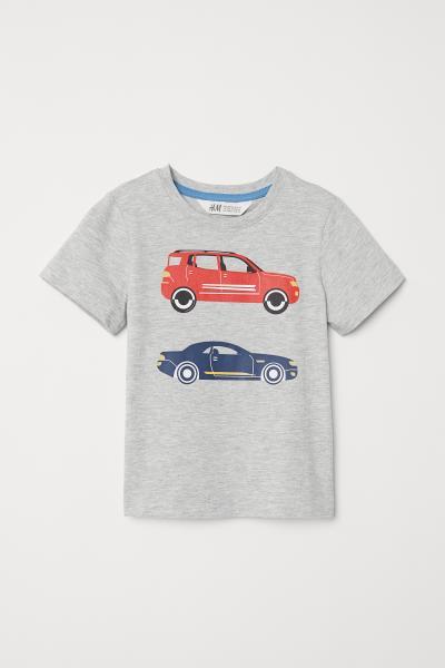 H&M - T-Shirt mit Druck - 3