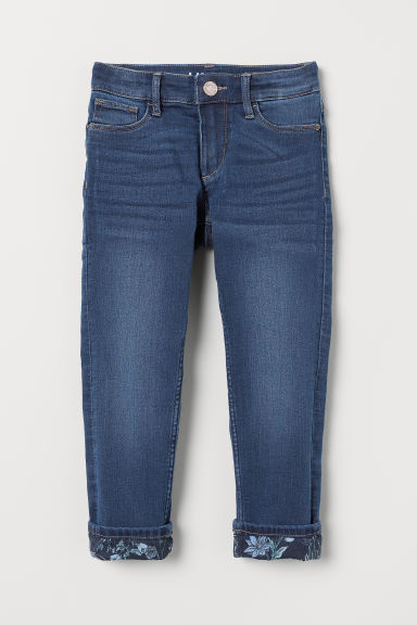 Skinny Lined Jeans - Blu denim - BAMBINO | H&M IT