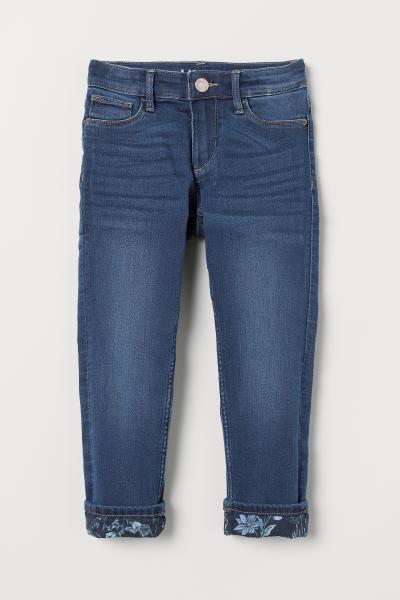 H&M - Skinny Lined Jeans - 1