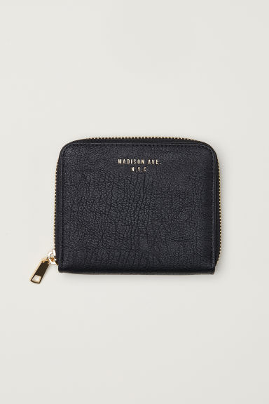 Wallet - Black -  | H&M CN