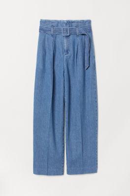 4a9bc523 Sale – Bukser | Dame | Stylede bukser, chinos og andet | H&M DK