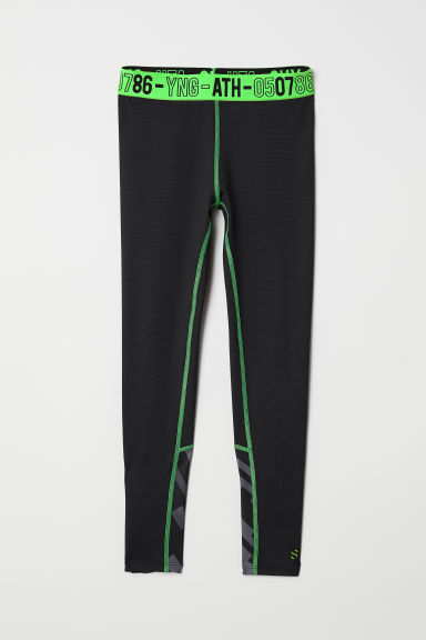 Sports tights - Black - Kids | H&M CN