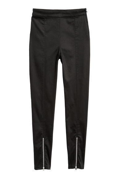 Stretch trousers - Black - Ladies | H&M CN