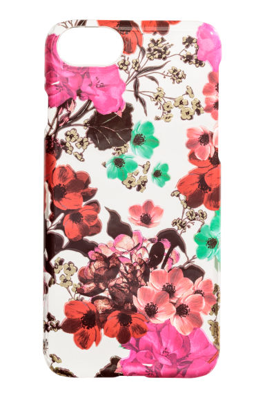 Iphone 6/6s-skal - Transparent/Blommor -  | H&M SE