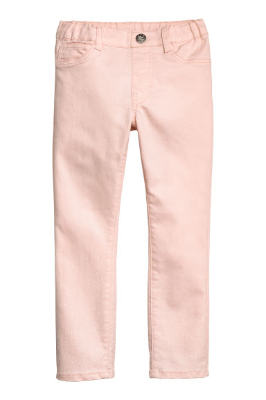 Twill treggings - Light pink - Kids | H&M