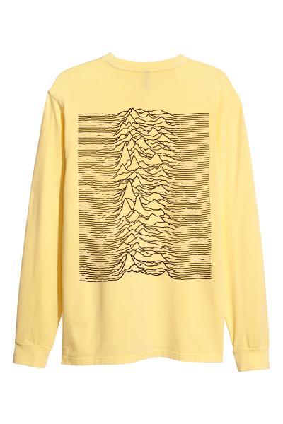 cfea3d91a667f3 Long-sleeved Jersey Shirt - Light yellow - Men | H&M ...