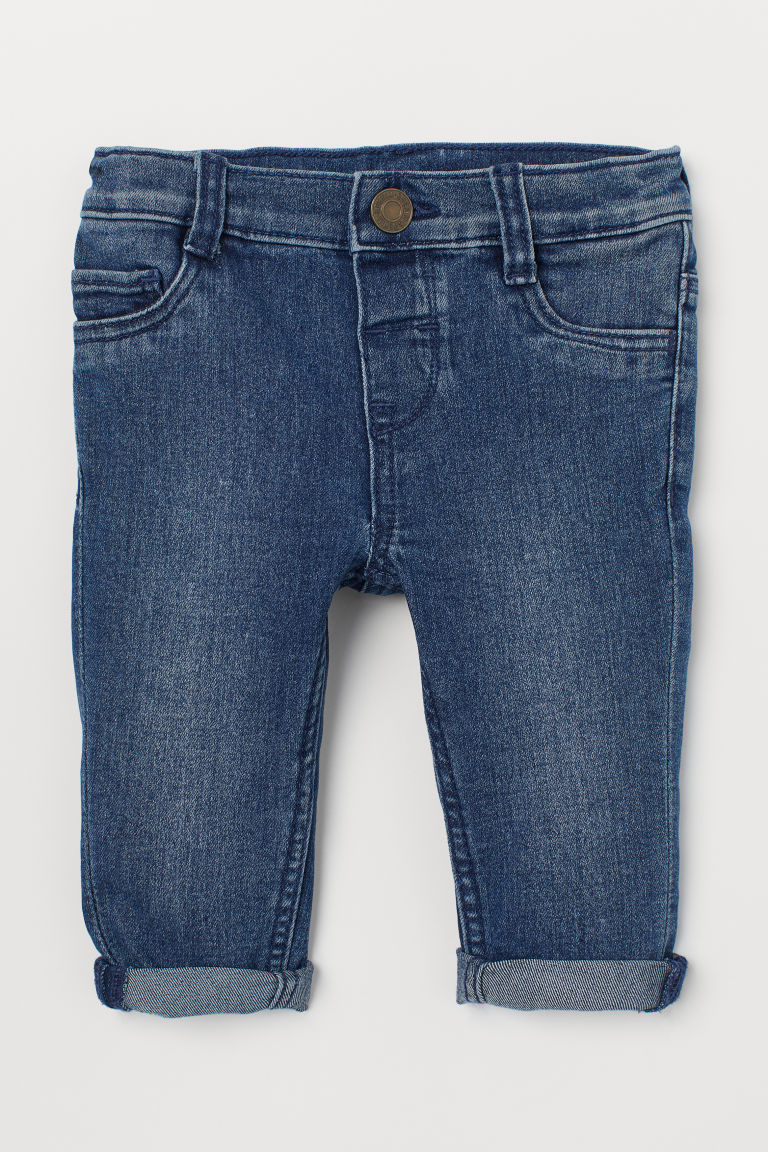 Skinny Fit Jeans - Bleu denim/lavé - ENFANT | H&M BE