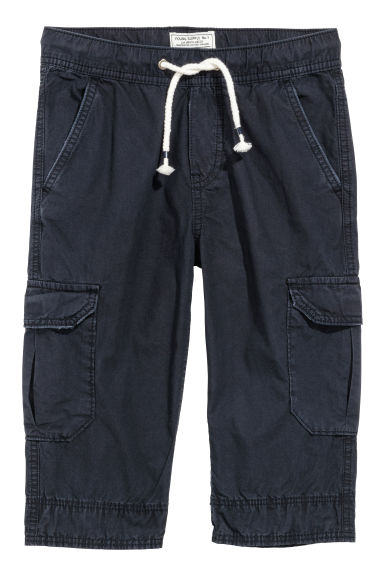 Shorts cargo lunghi - Blu scuro - BAMBINO | H&M IT