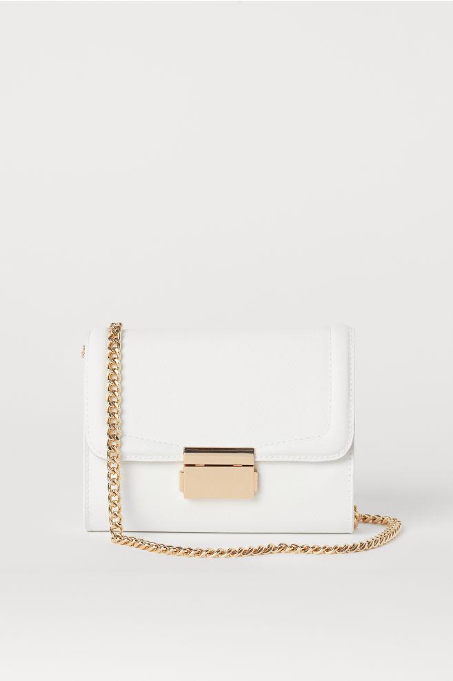 fd7eda777c Small Shoulder Bag - White - Ladies