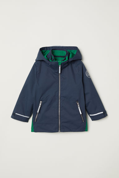 Giacca outdoor 3 in 1 - Blu scuro/verde - BAMBINO | H&M IT