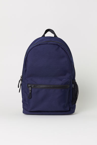 Backpack with a laptop sleeve - Dark blue - Men | H&M