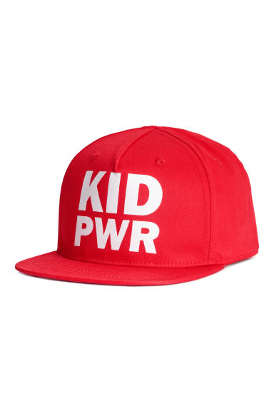Printed cap - Red - Kids | H&M