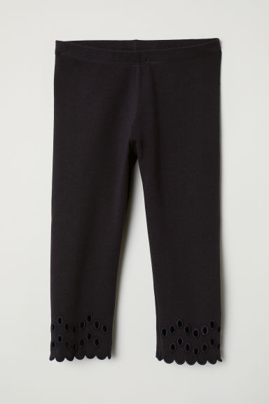 3/4-length leggings - Midnight blue -  | H&M