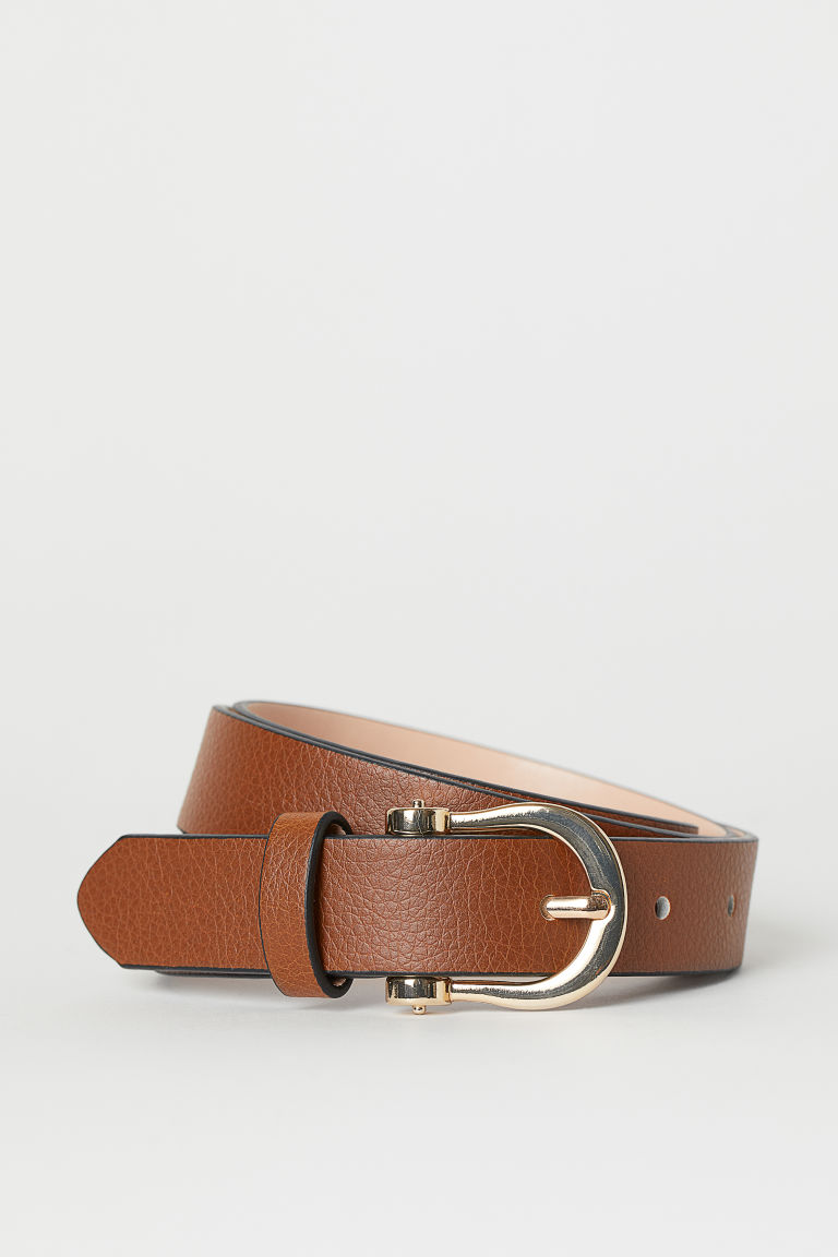 Narrow belt - Brown - Ladies | H&M GB