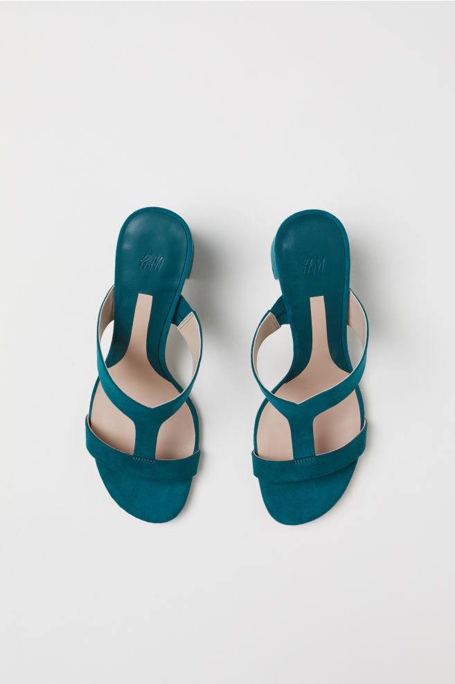 b48ebfba890d ... Sandals - Emerald green - Ladies