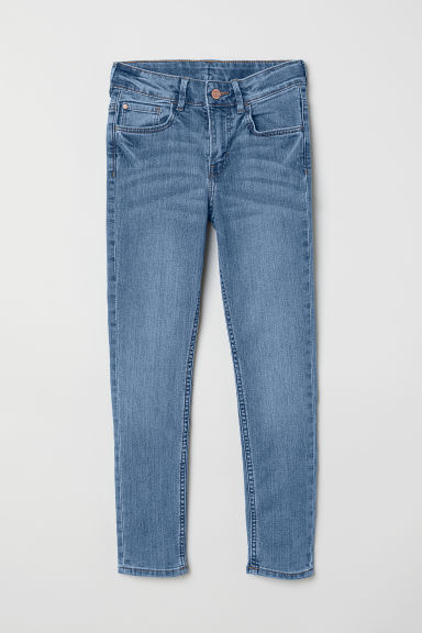 Skinny Fit Jeans - Denimblå - BARN | H&M NO