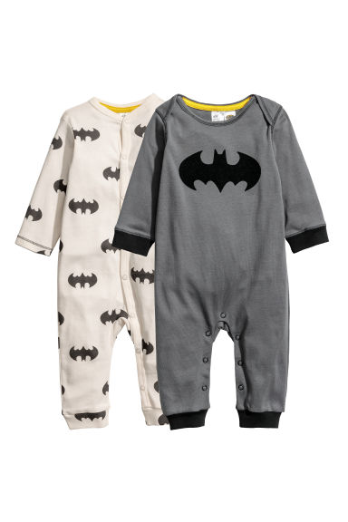 Pack de 2 pijamas - Gris/Batman -  | H&M ES