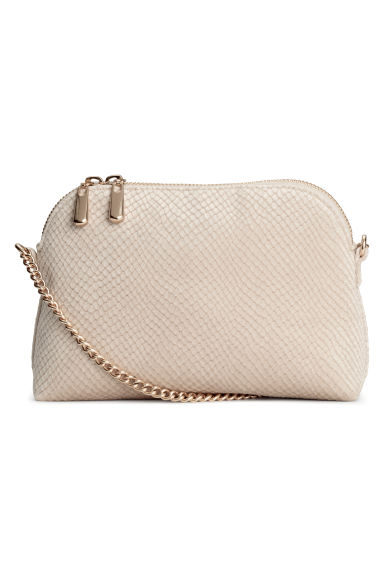 Shoulder bag - Light beige -  | H&M
