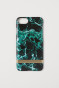 Green/Marble-patterned