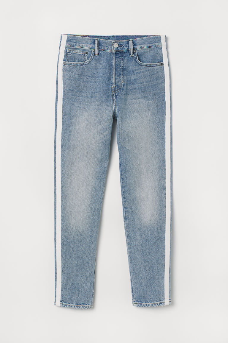 Tapered Fit Jeans - Blu denim - UOMO | H&M IT