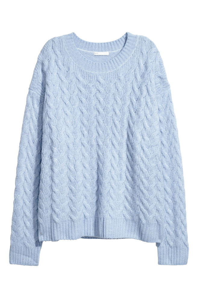 d71663597d Cable-knit jumper