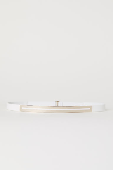 Waist belt - White - Ladies | H&M