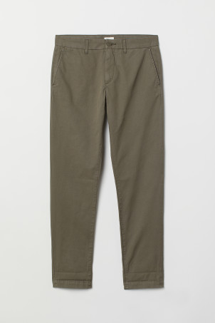 Cotton chinos Slim Fit
