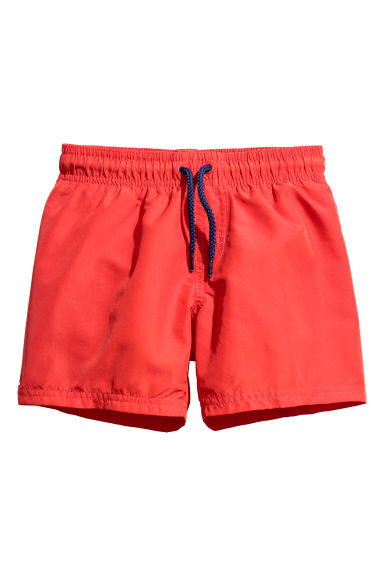 Swim shorts - Bright red - Kids | H&M