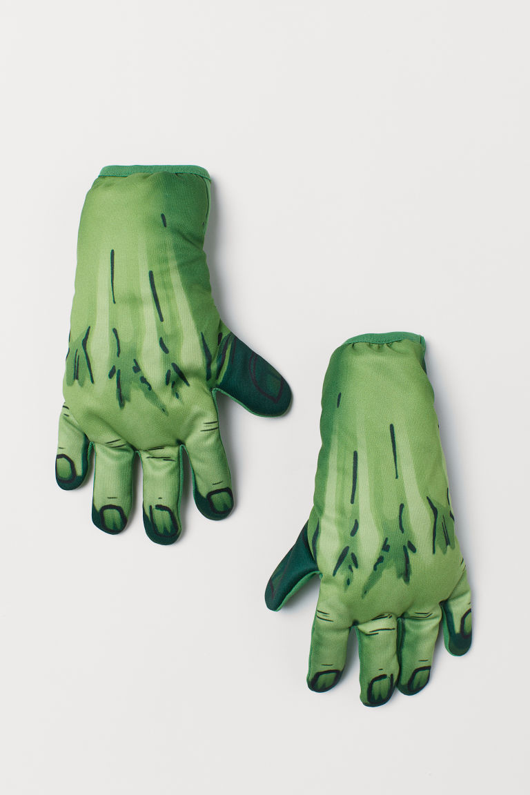 Superhero gloves - Green/Hulk - Kids | H&M GB