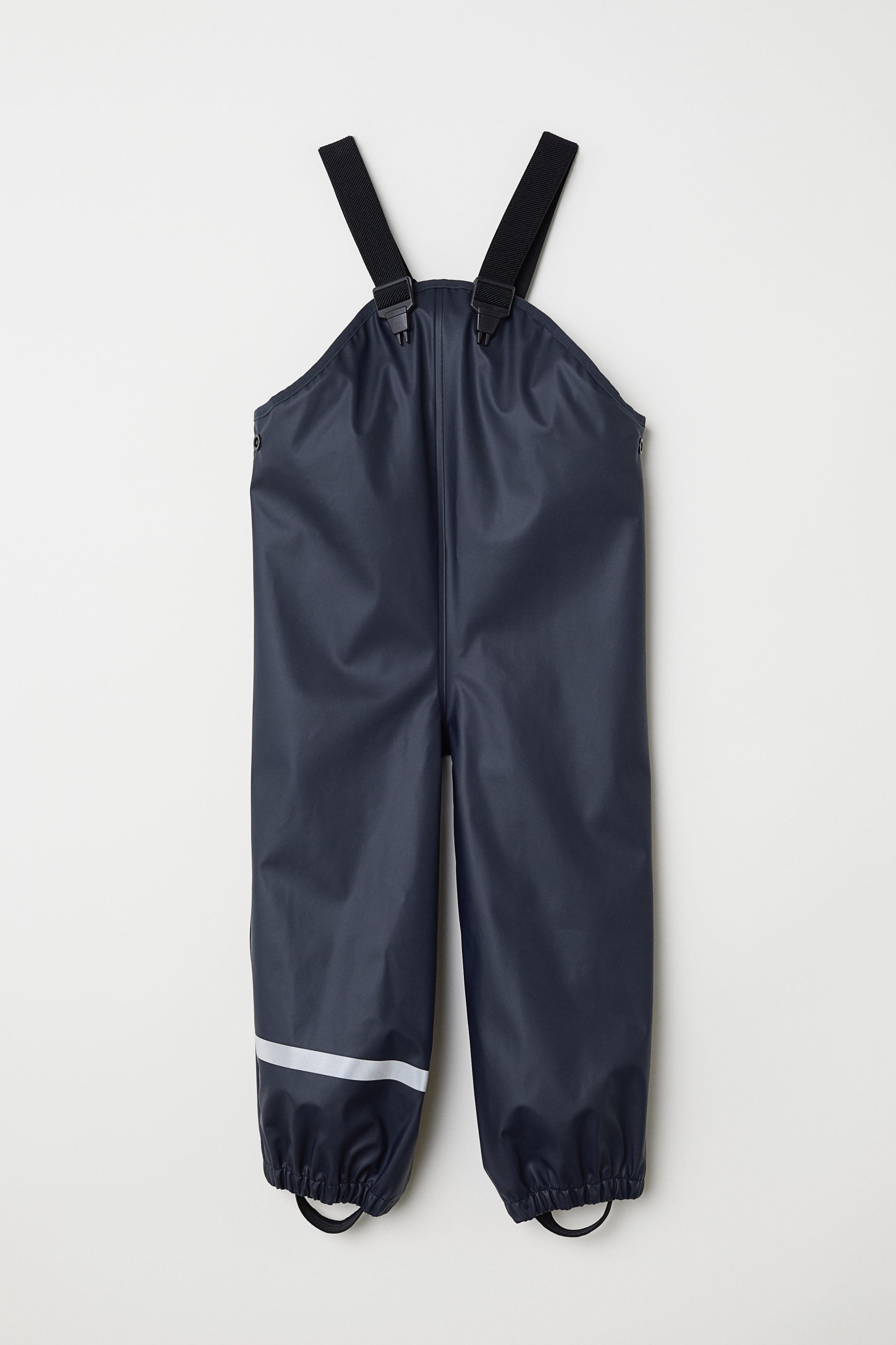 301cb30d7 Rain trousers - Dark blue - Kids