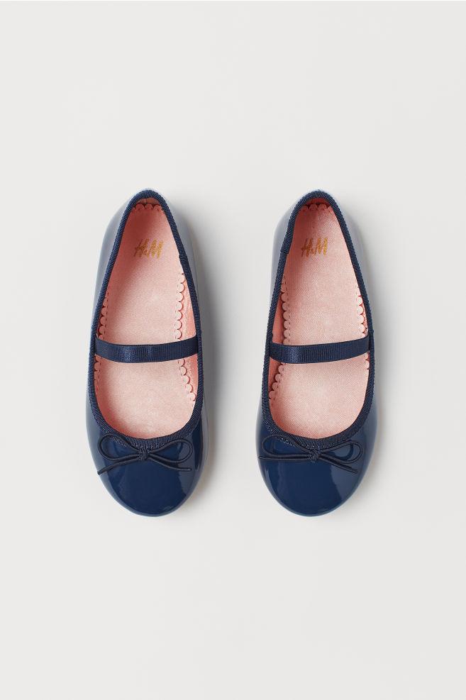 0a480a512aef Ballet pumps - Dark blue - Kids