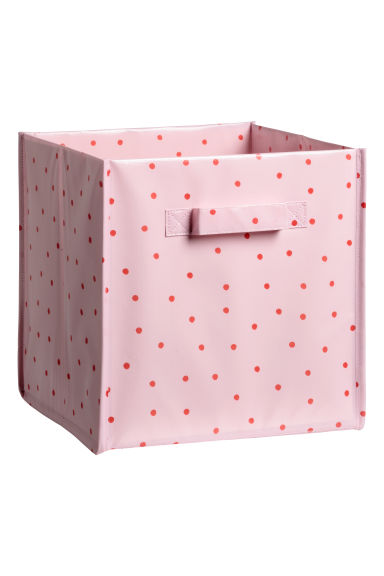Storage box - Pink/Red spotted -  | H&M CN