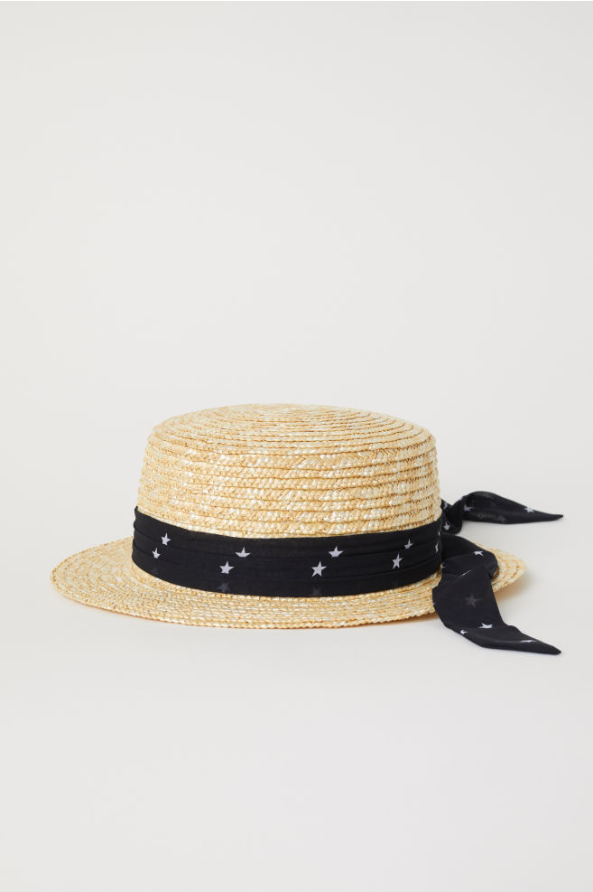 d7ef2007 Straw Hat - Natural - Ladies | H&M ...