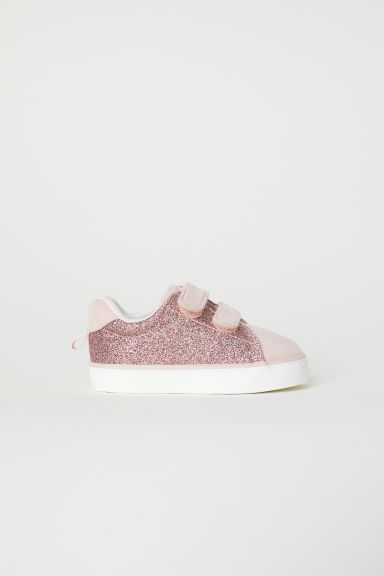 Trainers - Powder pink/Glitter - Kids | H&M