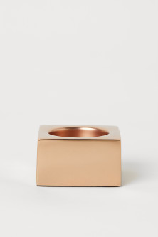 Small metal tealight holder