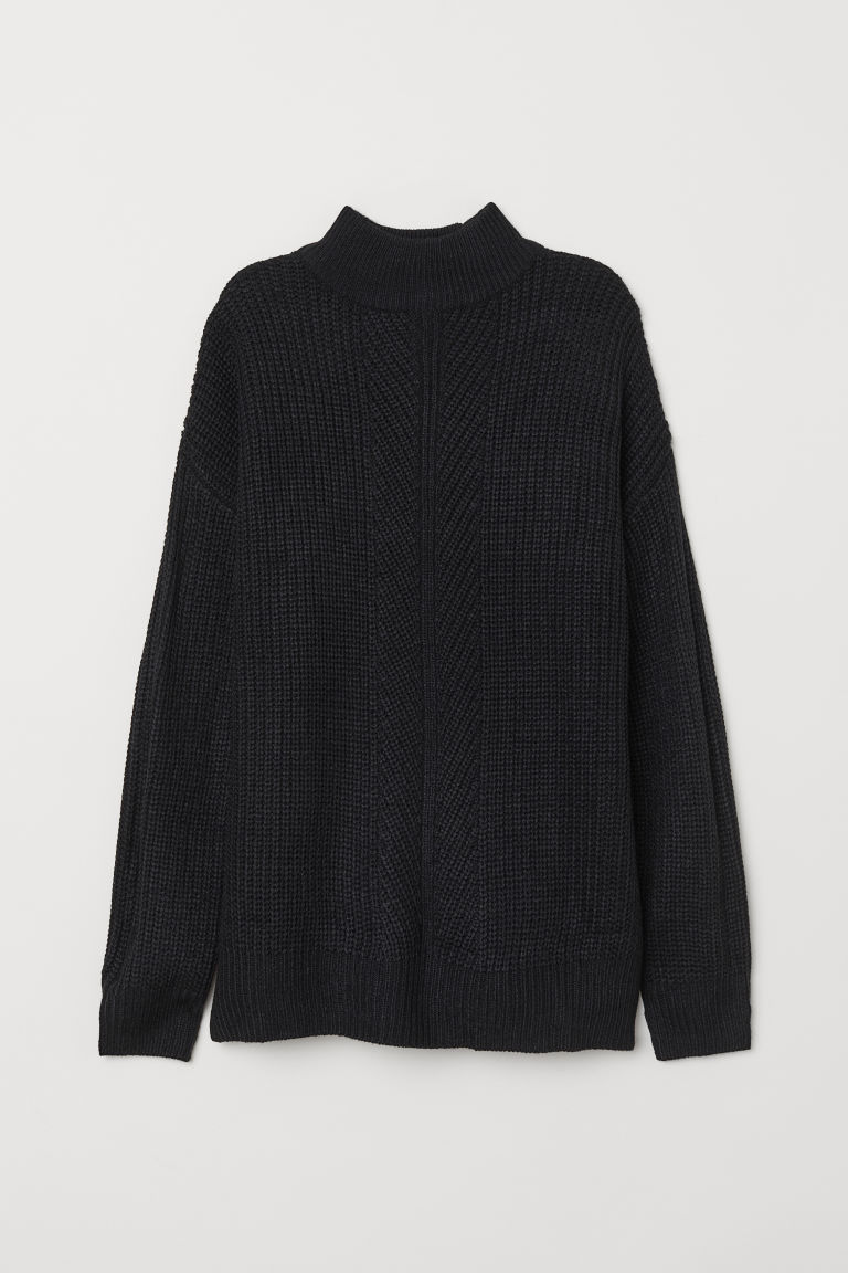 Pullover a lupetto - Nero -  | H&M IT