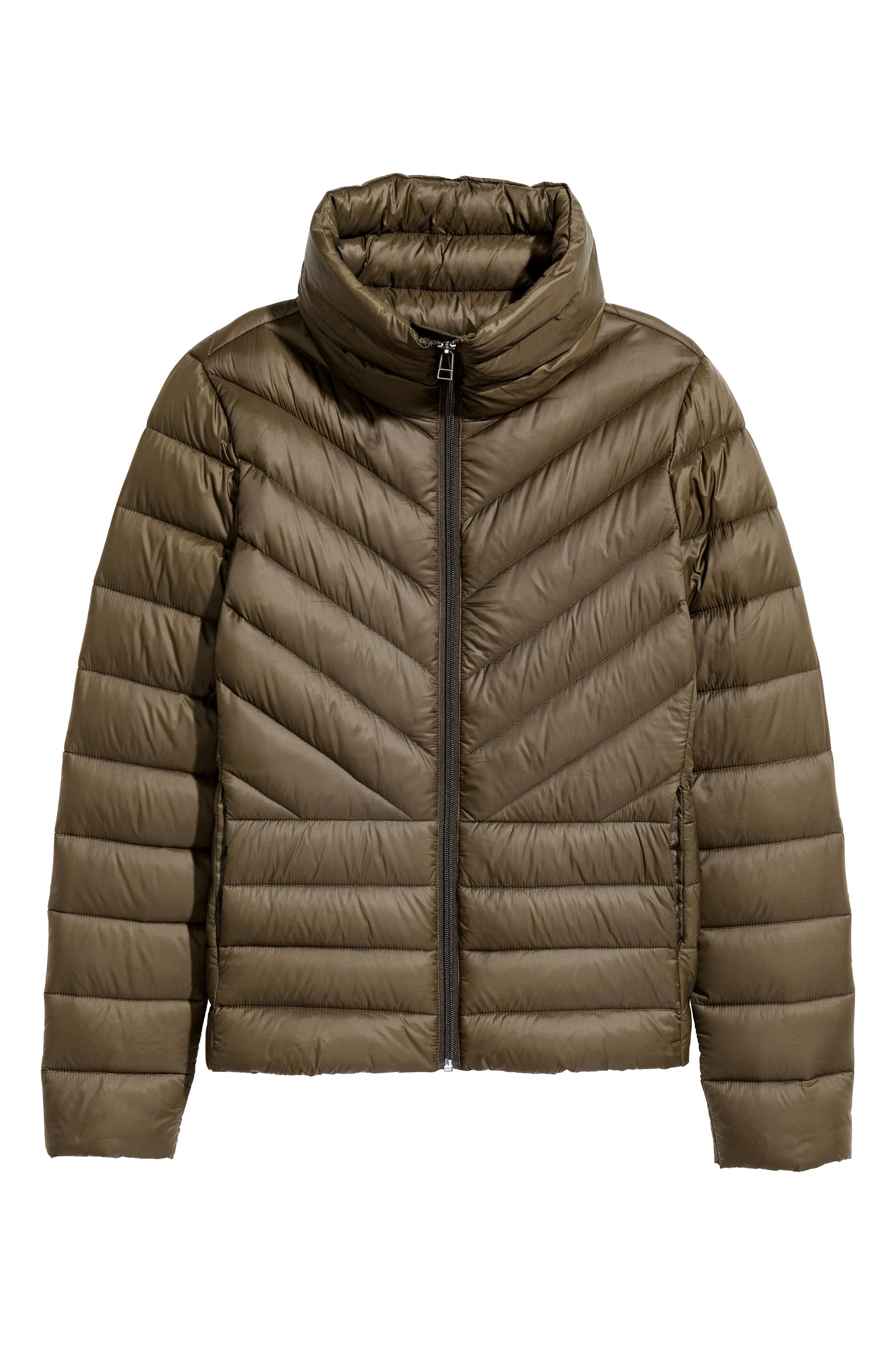 3cf236bd02b Lightweight down jacket - Black - Ladies   H&M GB