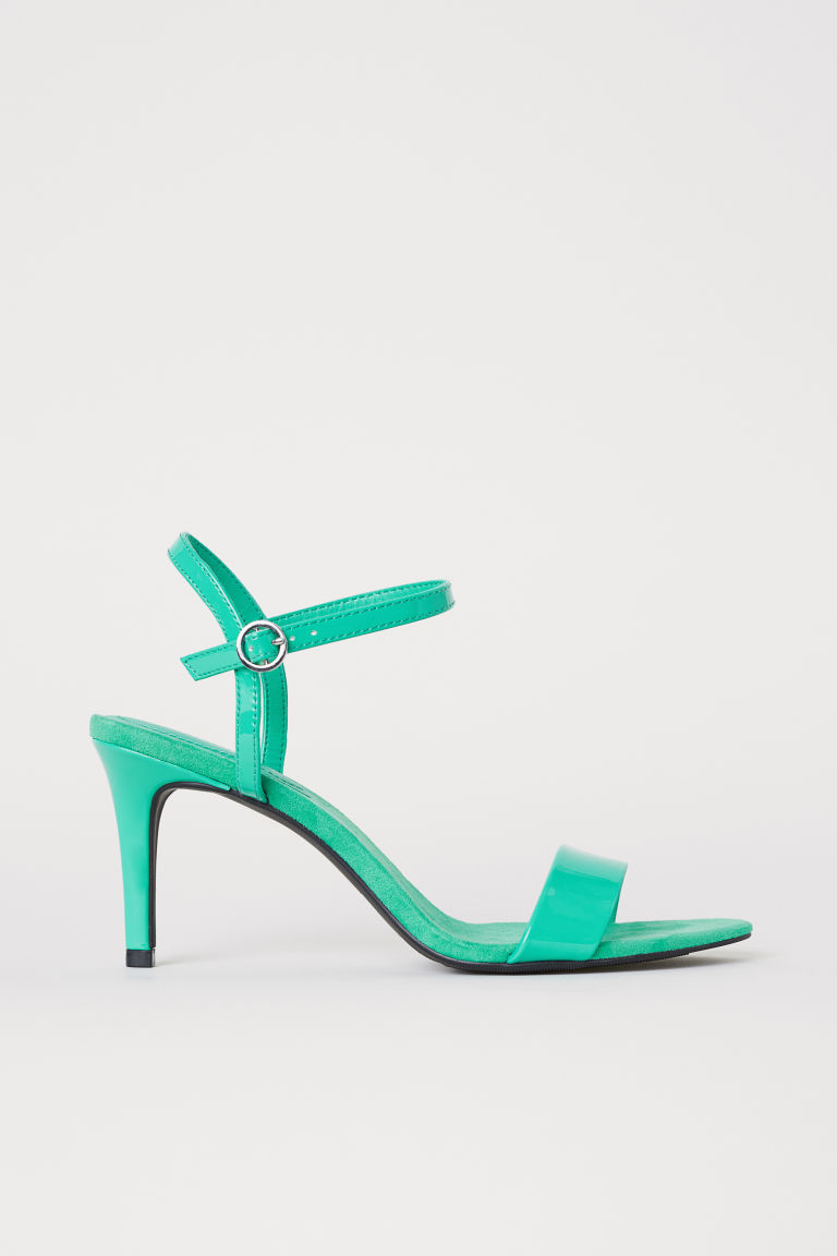 Sandals - Light green -  | H&M CN