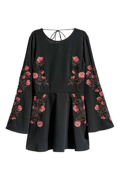 H&M - Embroidered dress - 1