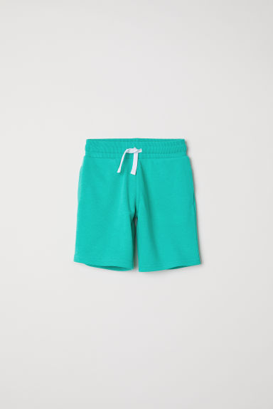 Sweatshirt shorts - Green - Kids | H&M CN