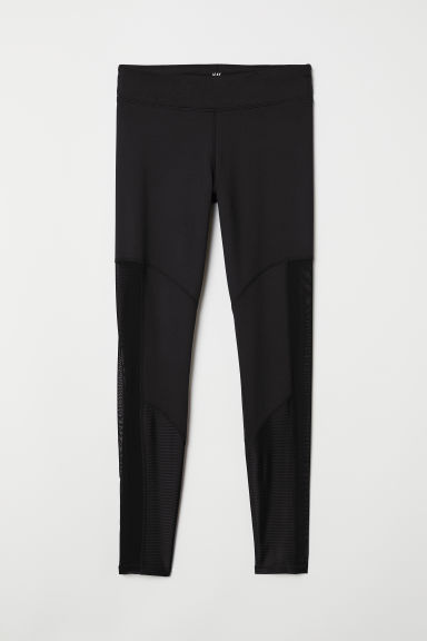 Yoga tights - Black - Ladies | H&M GB