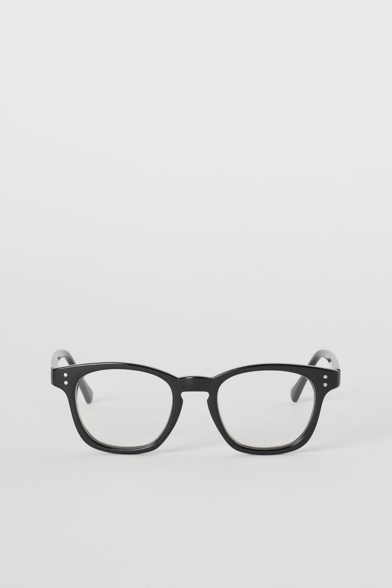 Clear-lens glasses - Black -  | H&M CN