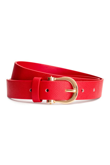 Narrow belt - Red - Ladies | H&M