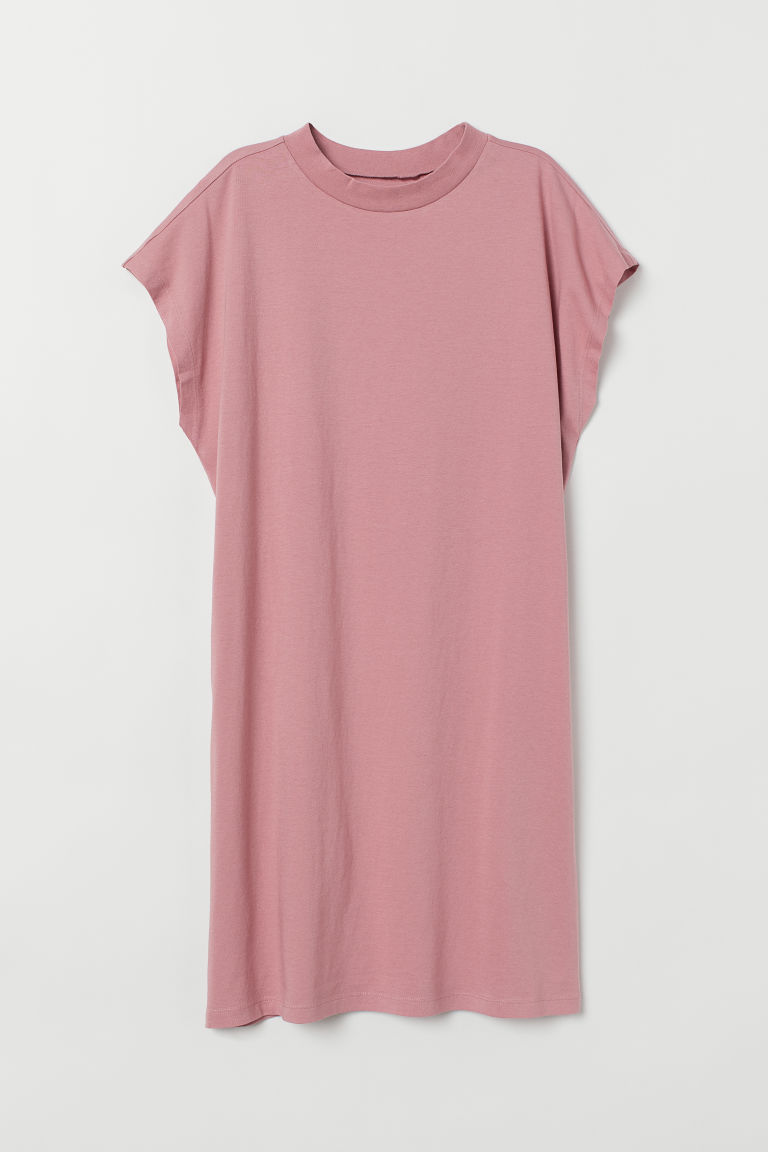 Jersey Dress - Dusty rose -  | H&M US